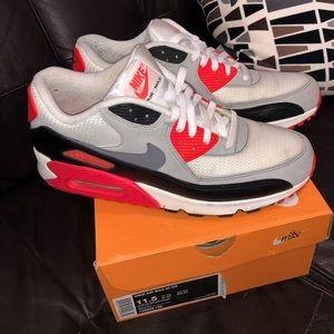 Infrared Nike Airmax 90's. Sz 11.5